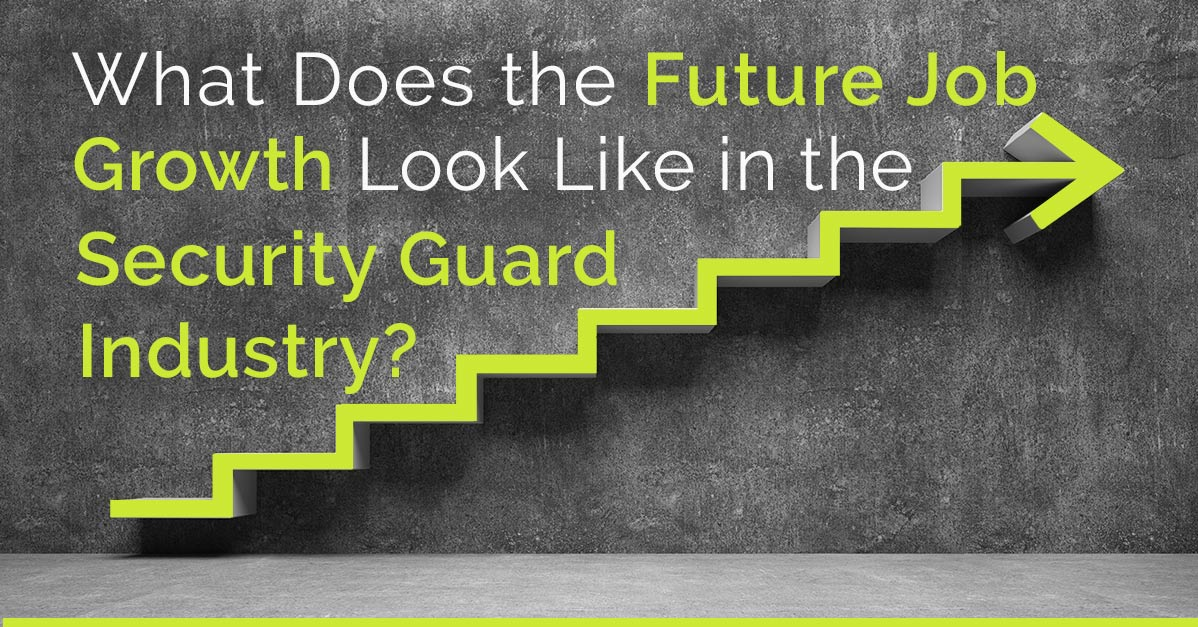 What does the future job growth look like in the Security Industry