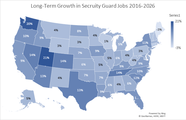 Long Term Security Guard Outlook