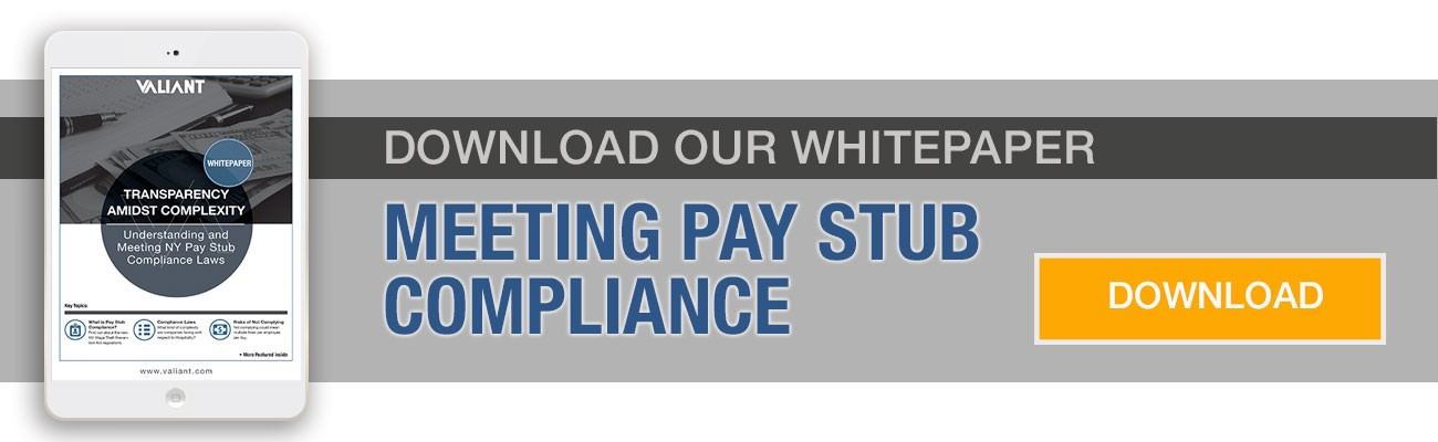 Pay Stub Compliance Whitepaper