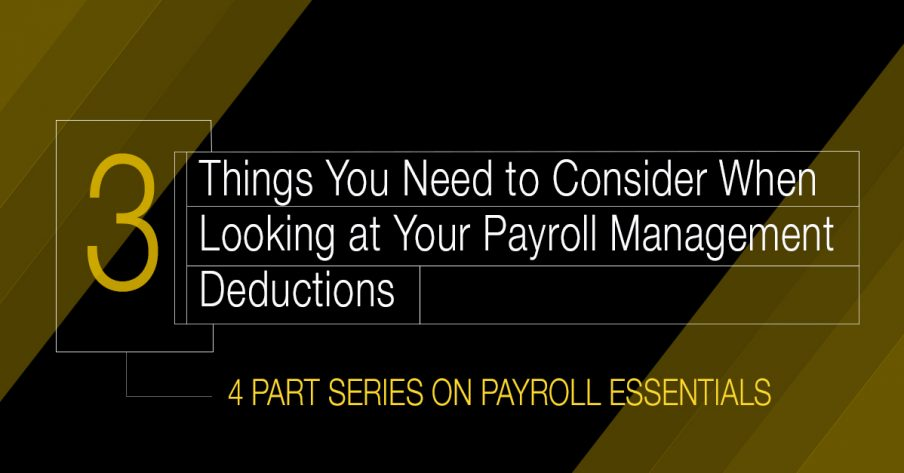 Things You Need to Consider When Running Payroll Management
