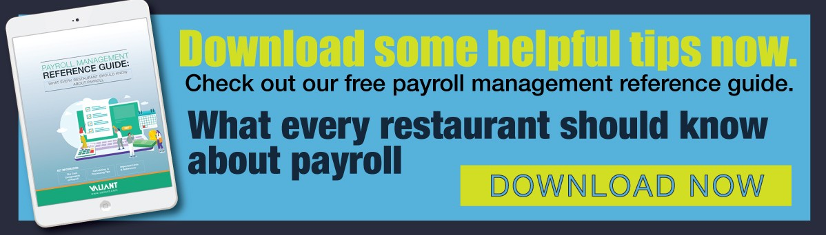 What Every Restaurant Should Know About Payroll- E Book