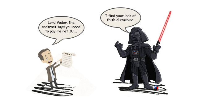 Contractors working with Vader